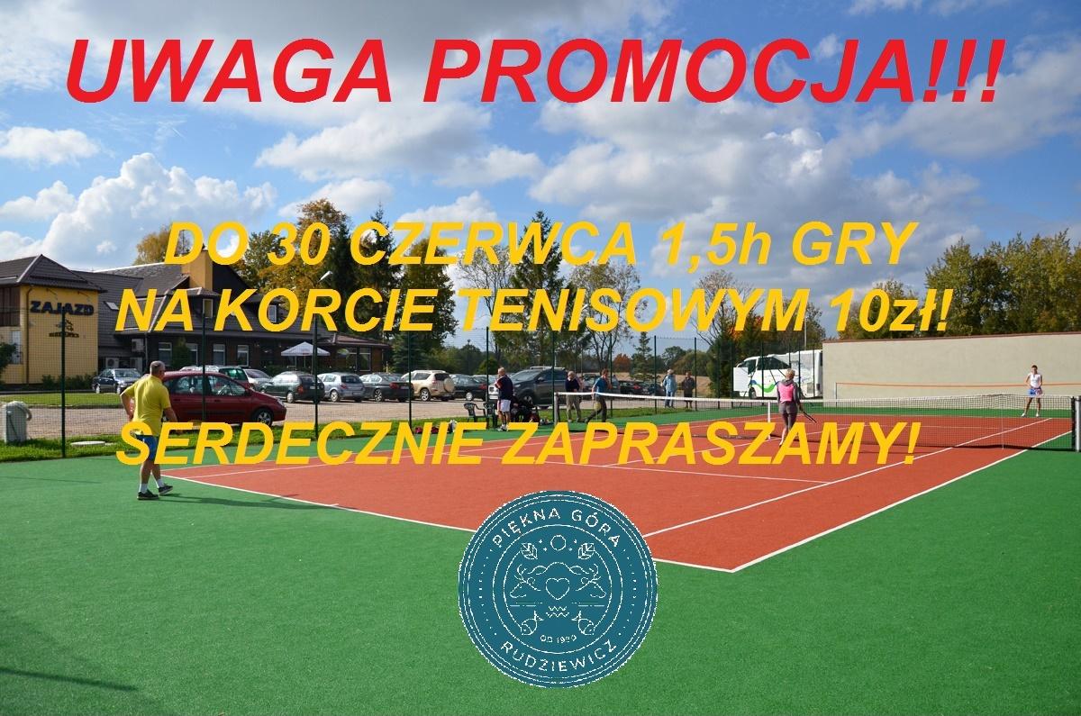 kort tenisowy ogłoszenie